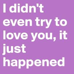 ik wil niet verliefd zijn